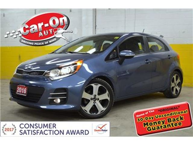 2016 KIA RIO SX HATCH LEATHER NAV HEATED SEATS LOADED in Ottawa, Ontario