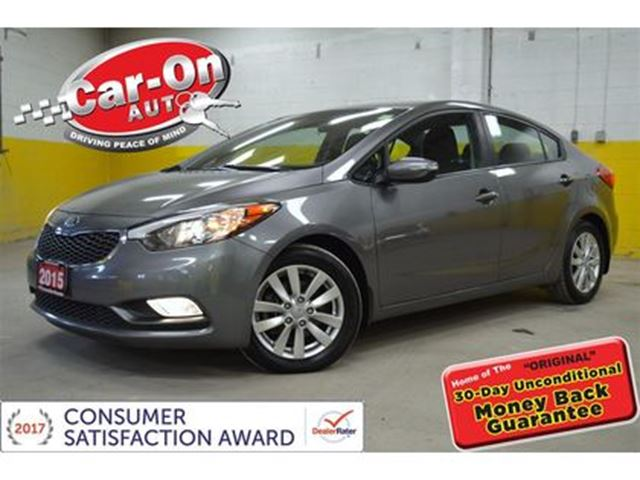 2015 KIA FORTE Only 16,000 km, EX SUNROOF HTD SEATS, ALLOYS in Ottawa, Ontario