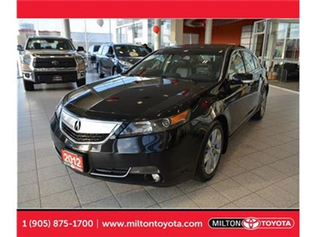 2012 ACURA TL Base w/Technology Package Navigation, Leather in Milton, Ontario