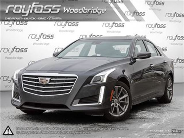 2017 CADILLAC CTS Luxury Collection AWD.NAV.LEATHER in Woodbridge, Ontario
