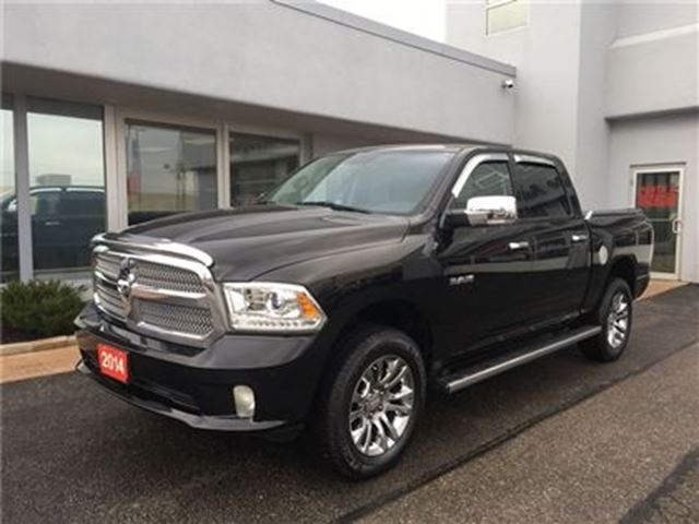2014 DODGE RAM 1500 Longhorn ONE OWNER!!! in Simcoe, Ontario