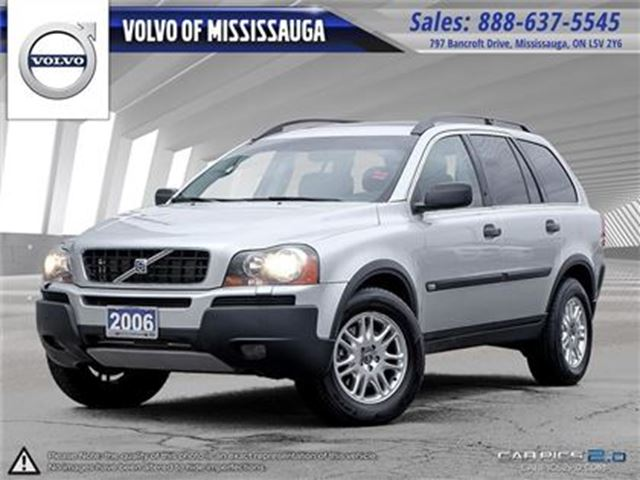 2006 VOLVO XC90 2.5 A SR 7 in Mississauga, Ontario