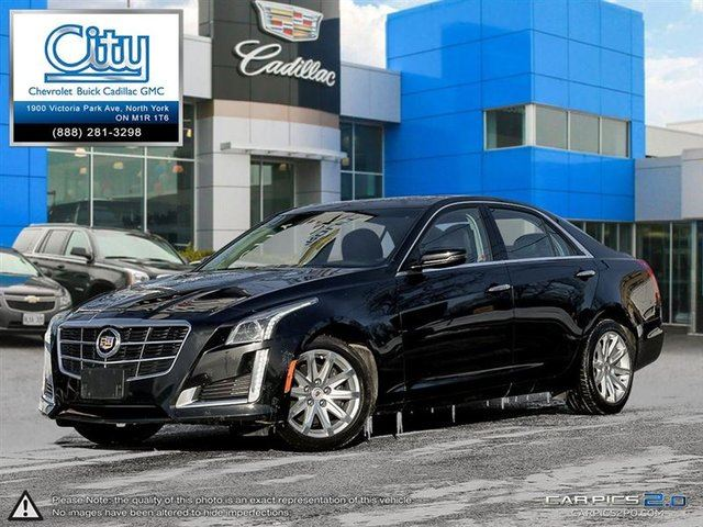 2014 CADILLAC CTS 2.0L Turbo AWD Luxury in Toronto, Ontario