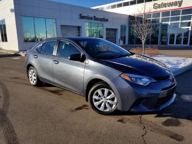 2016 TOYOTA COROLLA 4DR SDN CVT LE Backup Cam, Heated Seats, Bluetooth in Edmonton, Alberta