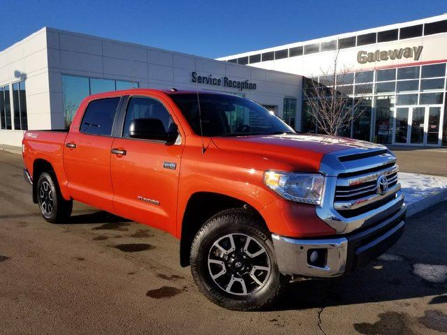 2017 TOYOTA TUNDRA 4WD CREWMAX TRD Navi, Backup Cam, Heated Sets in Edmonton, Alberta