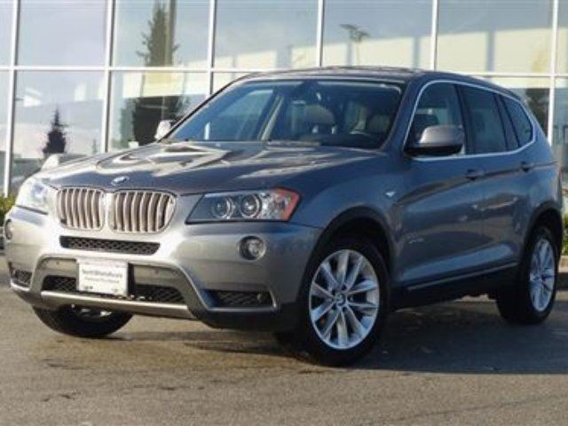 2011 BMW X3 xDrive35i in North Vancouver, British Columbia