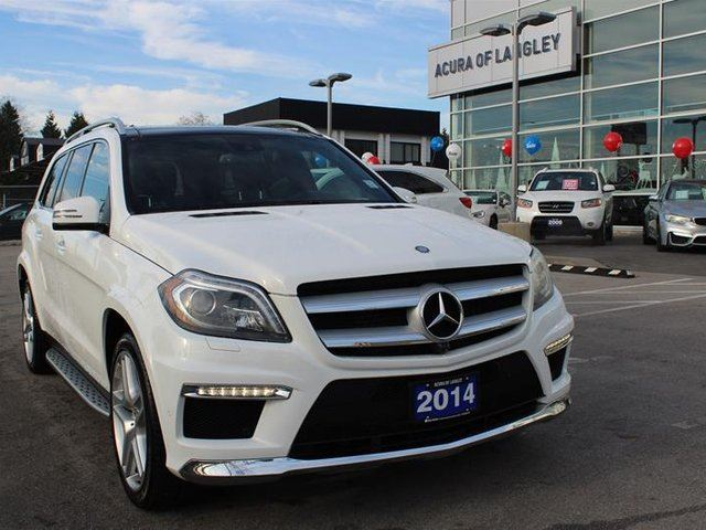 2014 MERCEDES-BENZ GL-CLASS 4MATIC in Langley, British Columbia