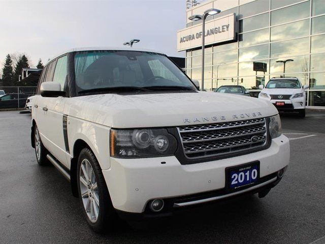 2010 LAND ROVER RANGE ROVER Supercharged (SC) in Langley, British Columbia