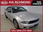 2010 Ford Mustang V6 I LEATHER I HEATED SEATS I AFTERMARKET EXHAUST in Richmond, British Columbia