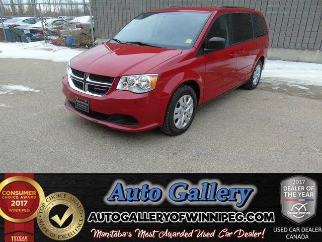 2014 DODGE GRAND CARAVAN SXT in Winnipeg, Manitoba