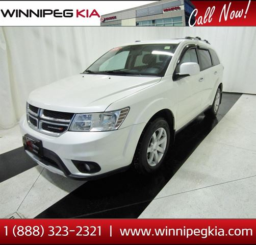 2016 DODGE JOURNEY R/T in Winnipeg, Manitoba