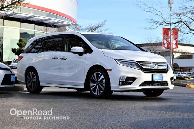 2018 HONDA ODYSSEY Touring, JUST ARRIVED! in Richmond, British Columbia