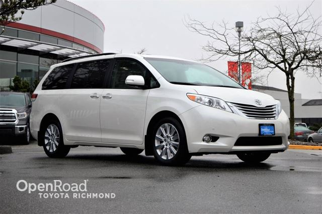 2014 TOYOTA SIENNA XLE, JUST ARRIVED! in Richmond, British Columbia