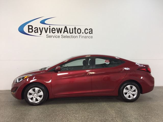 2016 HYUNDAI Elantra L- 1.8L|AUTO|ECO MODE|A/C|PWR GROUP|LOW KM! in Belleville, Ontario