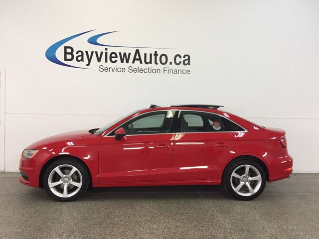 2015 AUDI A3 KOMFORT- TDI|AUTO|PANOROOF|LEATHER! in Belleville, Ontario