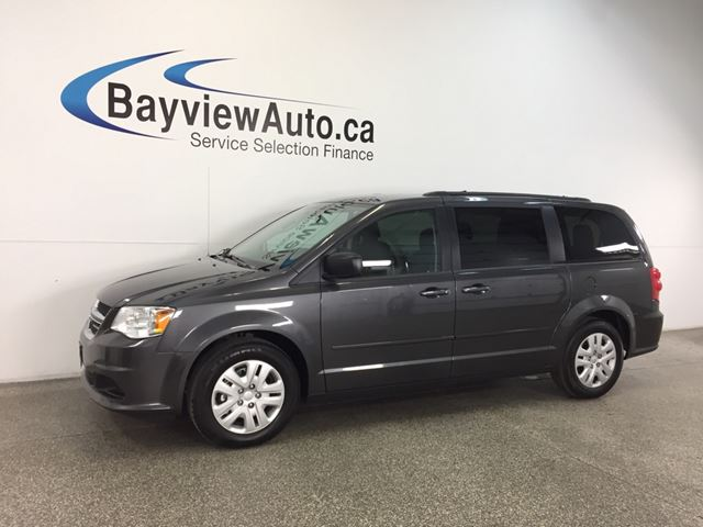 2017 DODGE GRAND CARAVAN SXT- 45 KM|3.6L|ECO MODE|DUAL CLIMATE|CRUISE! in Belleville, Ontario