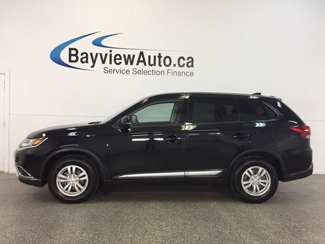 2017 MITSUBISHI OUTLANDER - AWD|ALLOYS|HTD STS|REV CAM|BLUETOOTH|CRUISE! in Belleville, Ontario