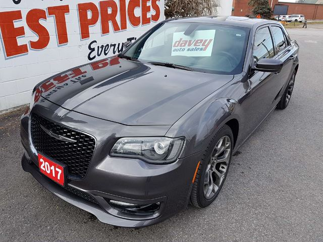 2017 CHRYSLER 300 S BACK UP CAMERA, REMOTE STARTER, NAVIGATION in Oshawa, Ontario