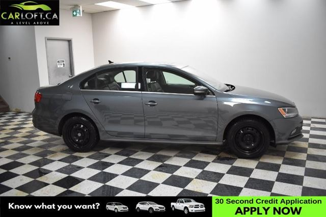 2015 VOLKSWAGEN JETTA 1.8 TSI Highline-BACKUP CAM*HEATED SEATS*BLUETOOTH in Kingston, Ontario