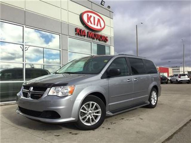 2013 DODGE GRAND CARAVAN SXT+ DVD STOW N GO in Cambridge, Ontario