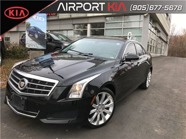 2014 CADILLAC ATS 2.0 TURBO LUXURY/NAV/LEATHER/ROOF/ in Mississauga, Ontario