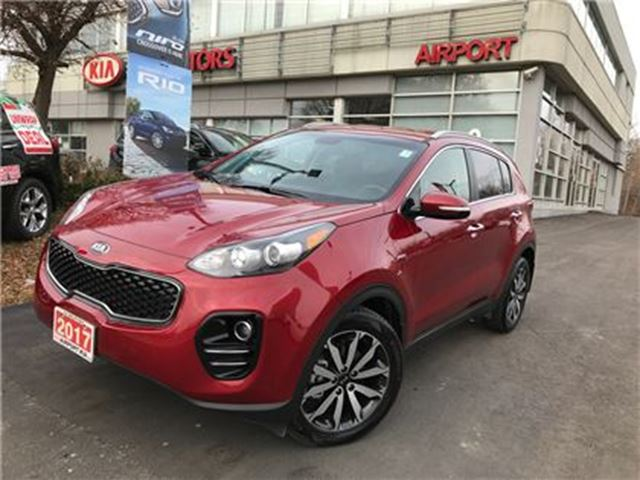 2017 KIA SPORTAGE DEMO/EX/AWD/AUTO/AIR/BACKUP CAMERA/HTD SEATS in Mississauga, Ontario
