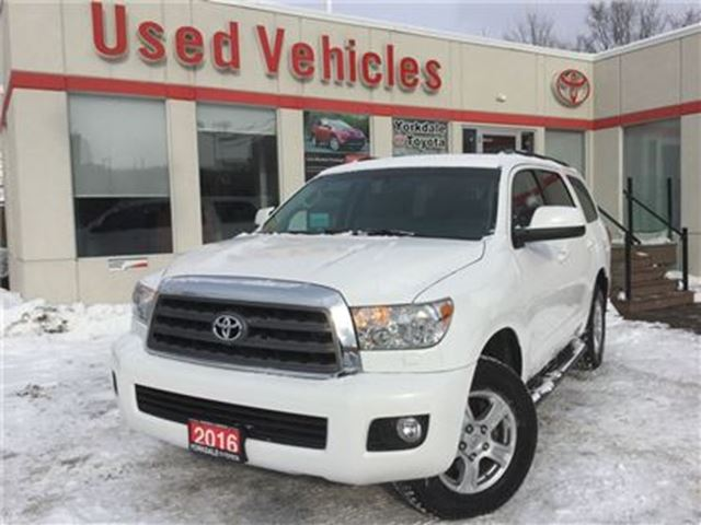 2016 TOYOTA Sequoia SR5 V8   Leather   H.Seats   B.Tooth in Toronto, Ontario