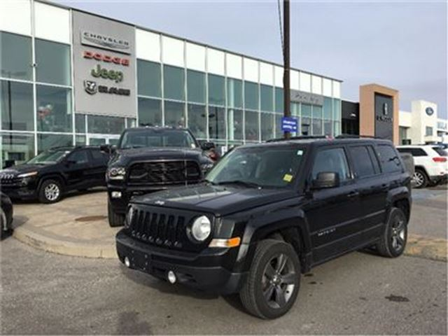2015 JEEP PATRIOT Sport/North HIGH ALTITUDE LEATHER SUNROOF in Pickering, Ontario