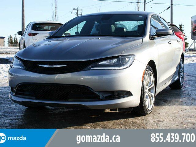 2016 CHRYSLER 200 S AWD V6 FULLY LOADED ACCIDENT FREE in Edmonton, Alberta