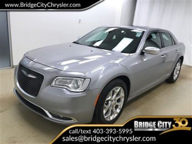 2017 CHRYSLER 300 C Platinum AWD- Leather, Heated Seats, Moonroof! in Lethbridge, Alberta