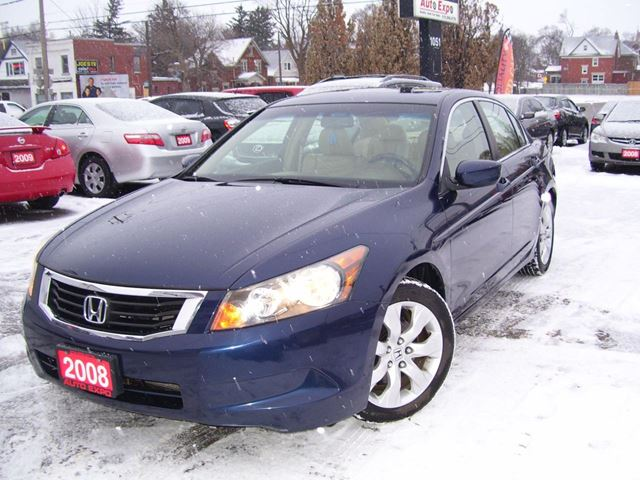 2008 HONDA ACCORD EX-L,Leather,Loaded in Kitchener, Ontario