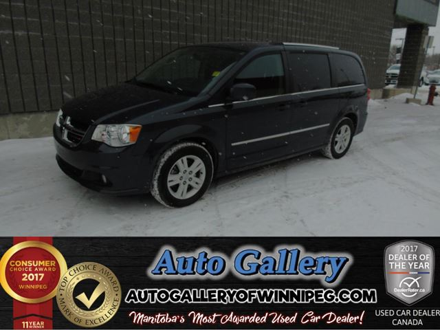 2014 DODGE GRAND CARAVAN Crew in Winnipeg, Manitoba