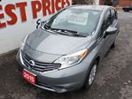 2015 Nissan Versa 1.6 SV BACK UP CAMERA, BLUETOOTH, CD PLAYER in Oshawa, Ontario