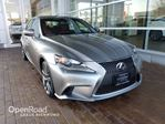 2015 Lexus IS 250 F SPORT SERIES 2 in Richmond, British Columbia
