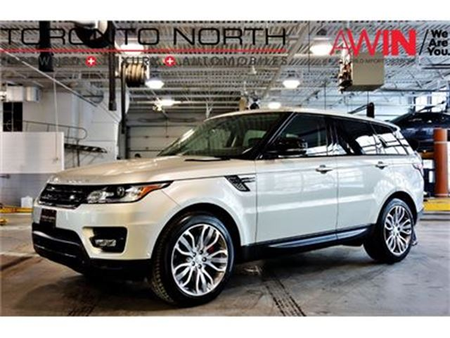 2014 LAND ROVER RANGE ROVER Sport V8 Supercharged DYNAMIC NO ACCIDENT in North York, Ontario