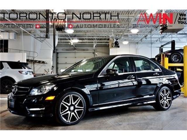 2014 MERCEDES-BENZ C-CLASS C350 4MATIC AMG SPORT PACKAGE PLUS in North York, Ontario