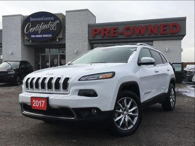 2017 JEEP Cherokee Limited 4X4, NAV, LEATHER, F.Daily Rental in Toronto, Ontario