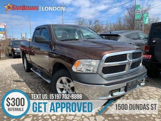 2013 DODGE RAM 1500 ST   GREAT PICK   APPLY BEFORE ITS GONE in London, Ontario