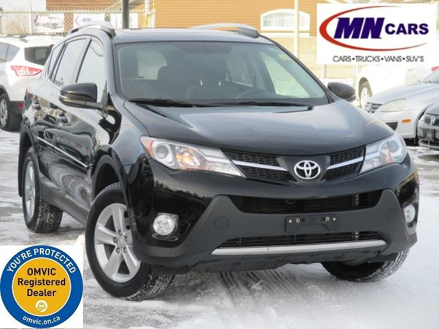 2013 TOYOTA RAV4 XLE FWD w/BACKUP CAM LOW KMs in Ottawa, Ontario
