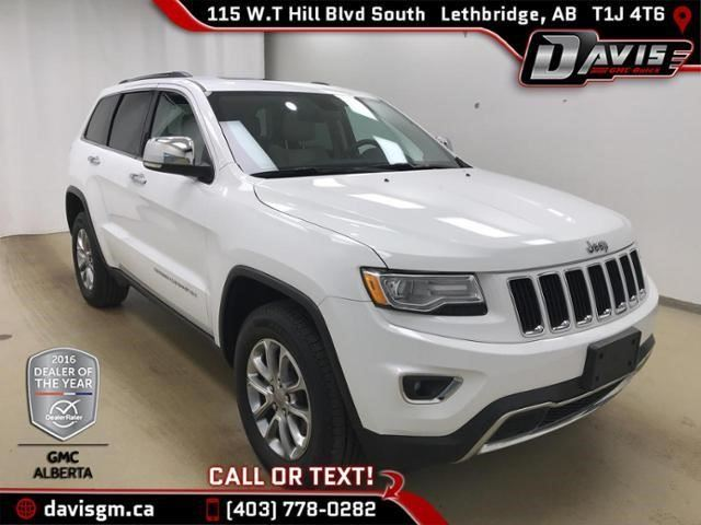 2015 JEEP GRAND CHEROKEE Limited in Lethbridge, Alberta