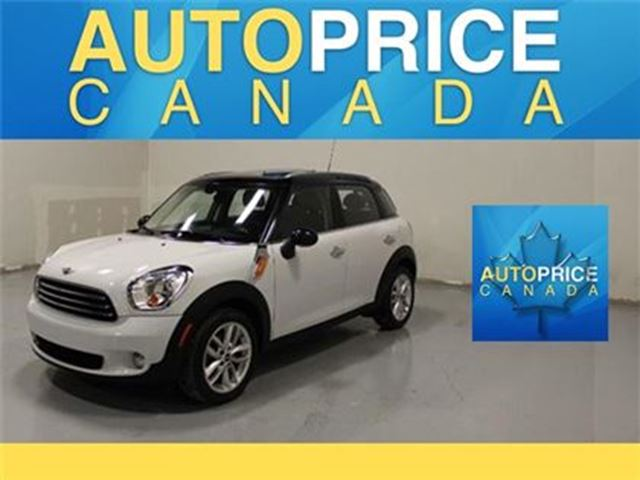 2014 MINI COOPER Countryman PANORAMIC ROOF AUTO PADDLE SHIFT in Mississauga, Ontario