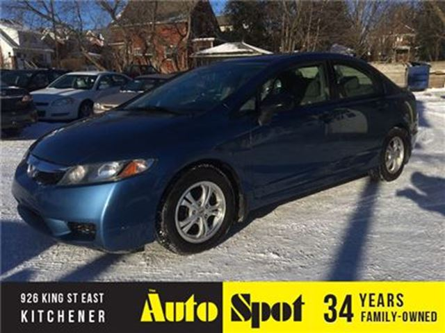 2010 HONDA CIVIC DX-A/LOW, LOW KMS/PRICED FOR A QUCK SALE in Kitchener, Ontario