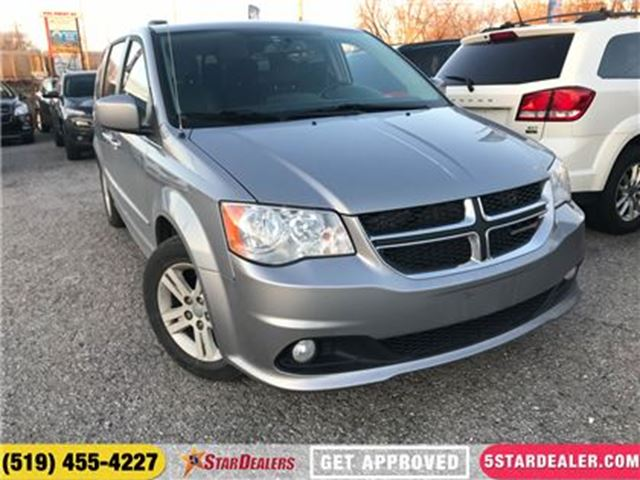 2014 DODGE GRAND CARAVAN Crew   LEATHER   NAV   DVD   CAM in London, Ontario