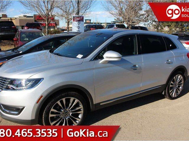 2017 LINCOLN MKX Reserve;NAV, PANO ROOF, LEATHER, AWD, MASSAGING SEATS, VENTILATED/HEATED SEATS in Edmonton, Alberta