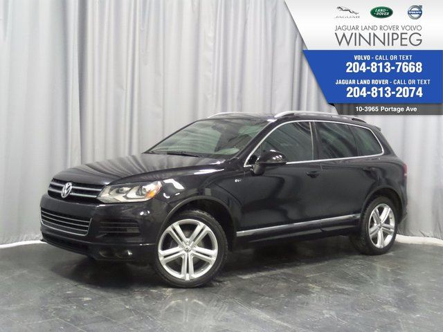 2014 VOLKSWAGEN TOUAREG Execline *AVAILABLE ONLY UNTIL DECEMBER 31* in Winnipeg, Manitoba