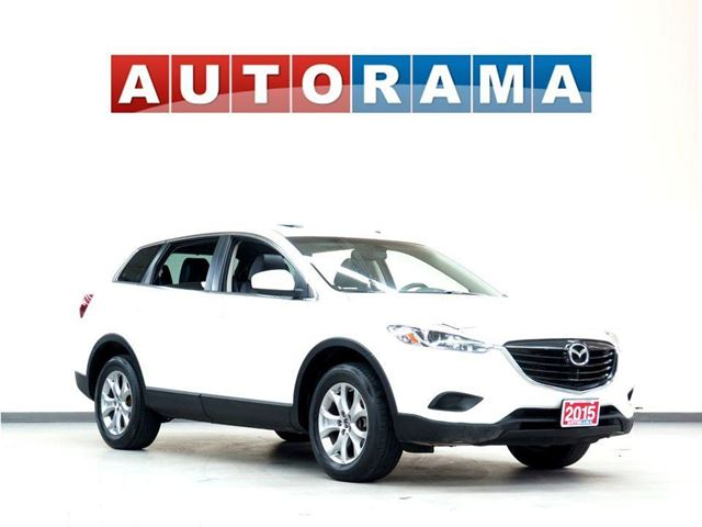 2015 Mazda CX-9 GT BACKUP CAM LEATHER SUNROOF 7 PASSENGER 4WD in North York, Ontario