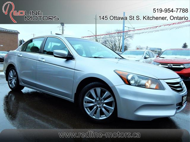 2011 Honda Accord EX-L  NAVIGATION.CAMERA  LEATHER.ROOF  97KM in Kitchener, Ontario