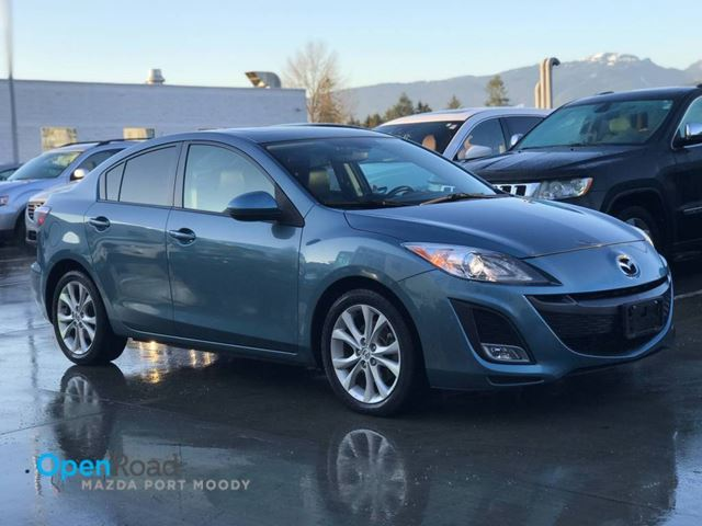 2011 MAZDA MAZDA3 GT Sdn A/T No Accident Local One Owner Bluetoot in Port Moody, British Columbia