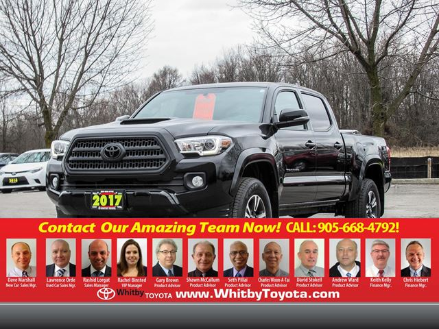 2017 TOYOTA TACOMA V-6 DOUBLE CAB in Whitby, Ontario