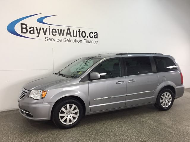 2015 CHRYSLER TOWN AND COUNTRY - FLEX FUEL|ALLOYS|DVD|REV CAM|PWR TRUNK/DOORS! in Belleville, Ontario